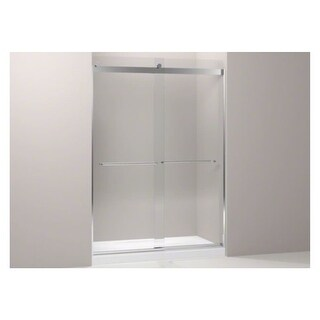 "Kohler K-706229-L Levity Frameless 82"" x 32-1/16"" Front Panel and Assembly for S - bright polished silver"