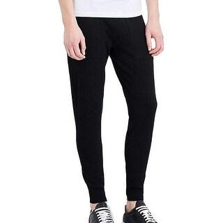 Michael Kors NEW Midnight Men's Black Size XL Pull-On Jogger Pants