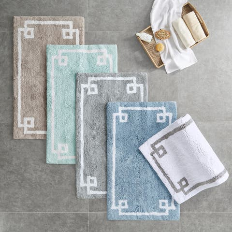 Madison Park Ethan Cotton Tufted Bath Rug