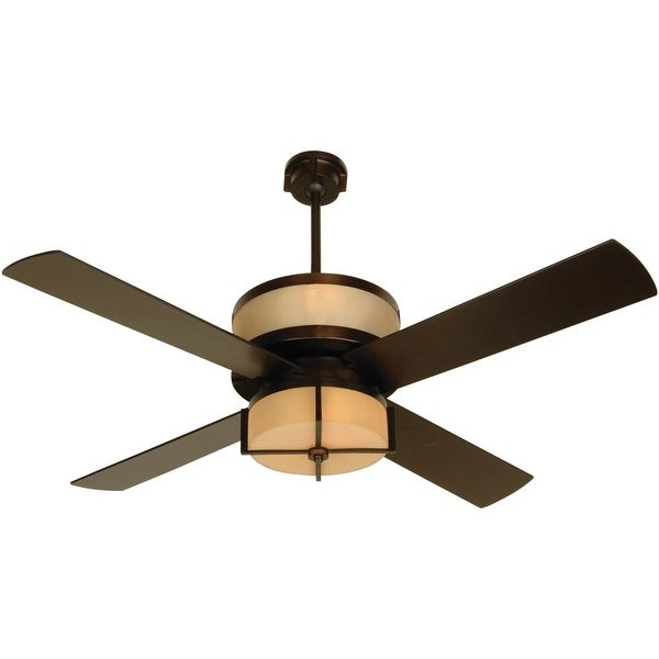 """Craftmade Midoro Midoro 56"""" 4 Blade Ceiling Fan - Blades, Remote and Light Kit Included - n/a"""