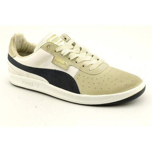 fbcdb1c60208 Shop Puma G. Vilas 2 Men Round Toe Leather Beige Sneakers - Free ...