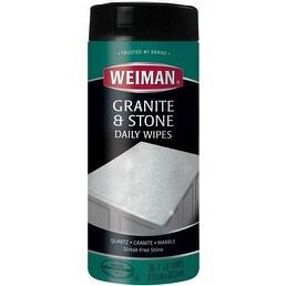 30 Wipes/Pkg - Weiman Granite & Stone Daily Wipes