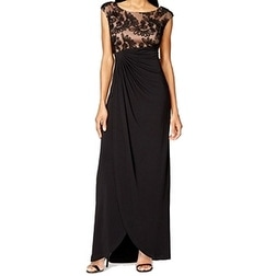 Connected Apparel NEW Black Women's Size 22W Plus Empire Waist Dress