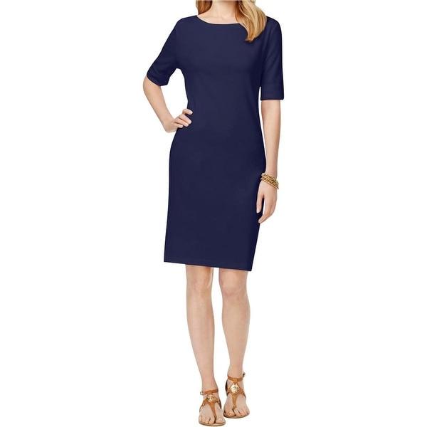 Karen Scott Womens Casual Dress Knit Pullover