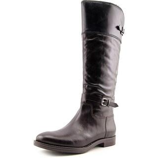 Enzo Angiolini Eero Round Toe Leather Knee High Boot