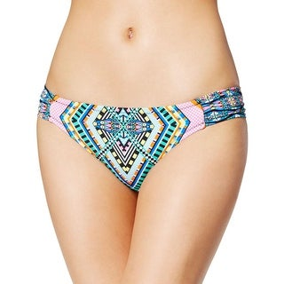 Jessica Simpson Womens Aztec Print Hipster Swim Bottom Separates - XL