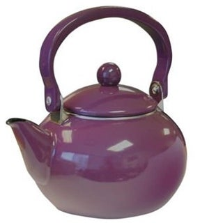 Reston Lloyd 30502 Calypso Basics 2 Quart Harvest Tea Kettle - Plum