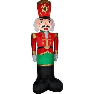 Link to Christmas Luxe Nutcracker - 8 ft. Tall Similar Items in Christmas Decorations
