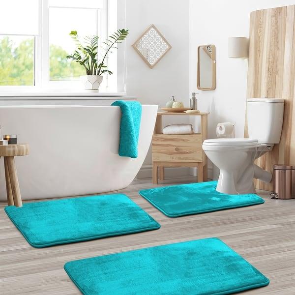 Non Slip Memory Foam Bath Rug 3