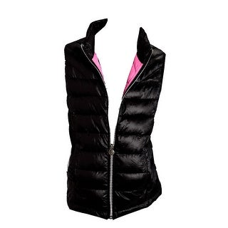 Roper Western Vest Girls Cute Quilted Fun Black 03-298-0685-0481 BL