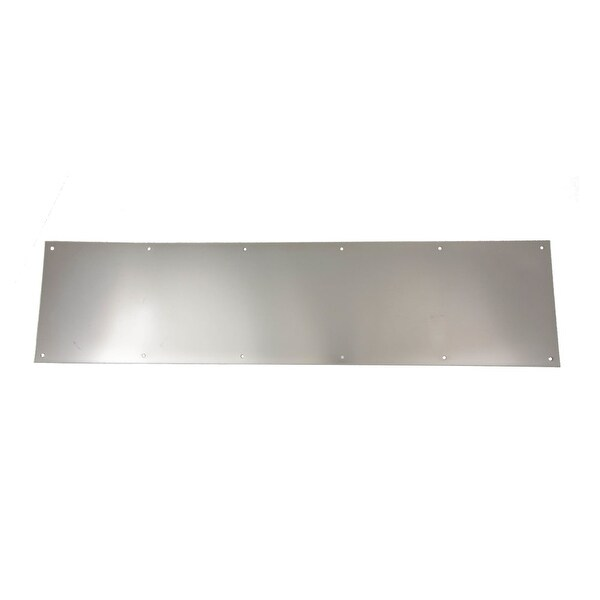 "Ives 8400B.0834 8"" x 34"" Brass Kick Plate"