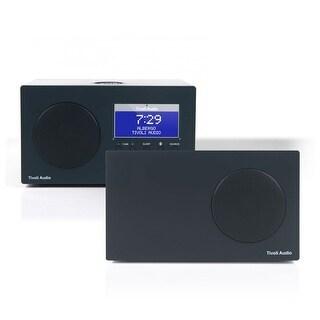 Tivoli Audio Albergo Bluetooth Clock Radio Package with Albergo Stereo Speaker