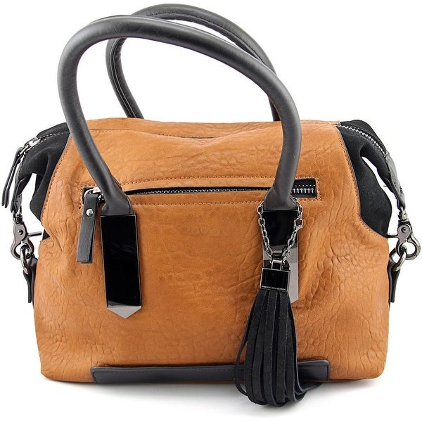 French Connection Camden Satchel Synthetic Satchel - Brown