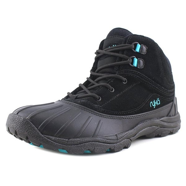 Ryka Mallory Blk/Teal Snow Boots