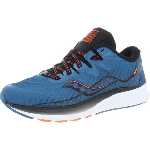 Saucony Boys S-Ride ISO 2 Running Shoes Performance Gym - Blue/Black