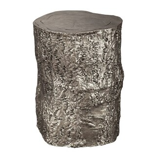Hekman 27755 14 Inch Wide Aluminum Accent Stool