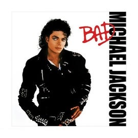 ''Michael Jackson: Bad'' by Anon Music Art Print (16 x 16 in.)