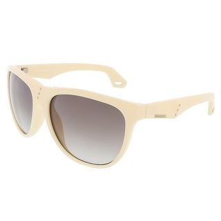 Diesel DL0002 25B Ivory Rectangle sunglasses - 60-16-135