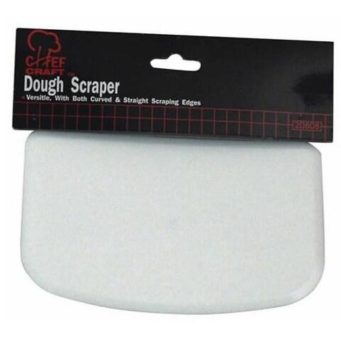 Chef Craft 20808 Dough Scraper, White
