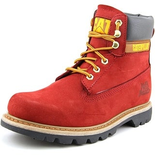 Caterpillar Colorado Round Toe Leather Work Boot