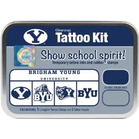 Clearsnap CS19621 Brigham Young University Collegiate Tattoo Kit