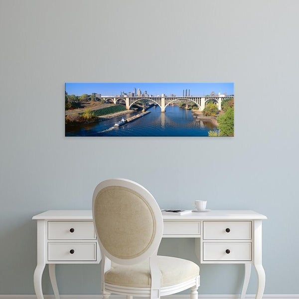 Easy Art Prints Panoramic Images's 'Morning, Minneapolis, Minnesota' Premium Canvas Art