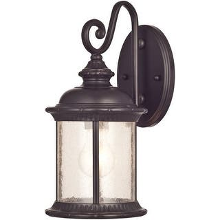 Westinghouse outdoor lighting for less overstock westinghouse 6230600 exterior wall lantern oil rubbed bronze aloadofball Choice Image