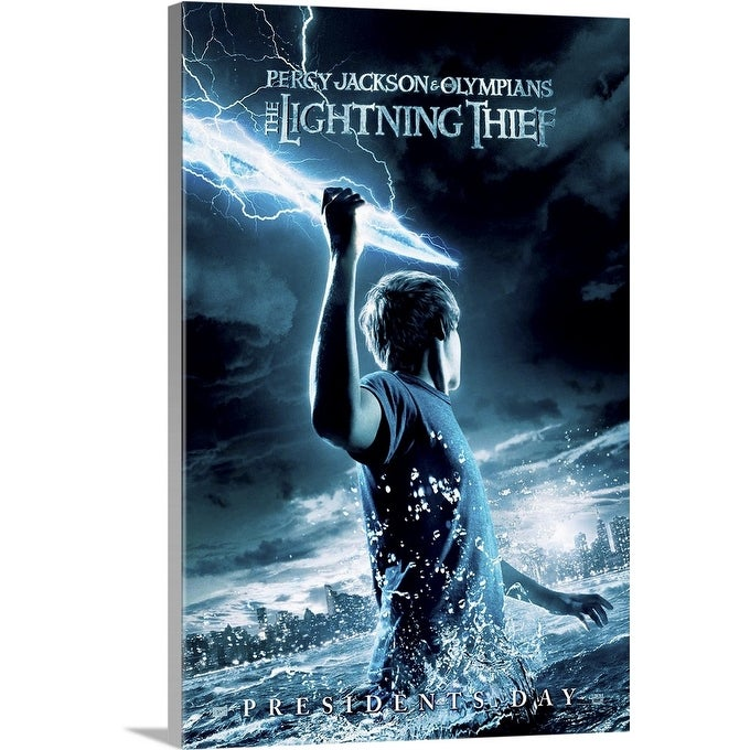 Shop Black Friday Deals On Percy Jackson The Olympians The Lightning Thief 2010 Canvas Wall Art Overstock 24135108