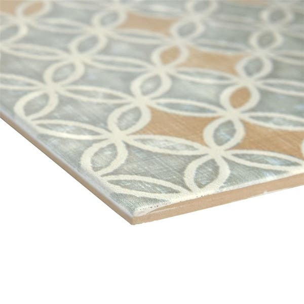 Somertile 7 75x7 75 Inch Puccini Full Ceramic Floor And Wall Tile 25 Tiles 11 Sqft Overstock 9765862