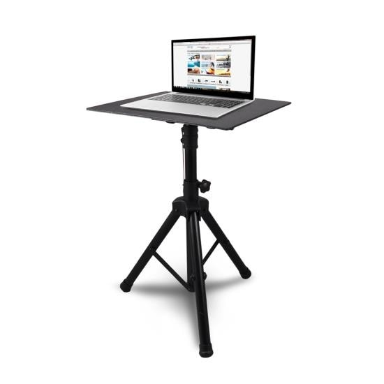 Universal Laptop Notebook Computer DJ Equipment Studio Stand Mount Holder, Height Adjustable