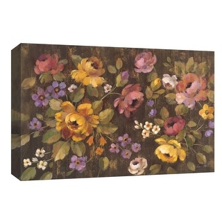 """PTM Images 9-153636  PTM Canvas Collection 8"""" x 10"""" - """"Expressive Spray"""" Giclee Flowers Art Print on Canvas"""