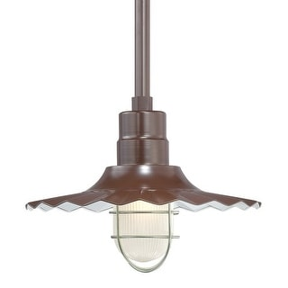 "Millennium Lighting RRWS15 R Series 1 Light 15"" Wide Outdoor Shade"