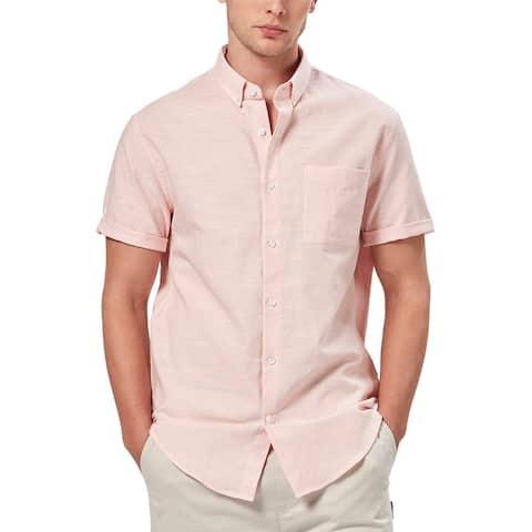 Charlie Holiday Linen Blend Shirt