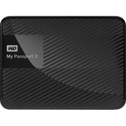 """WD WDBCRM0020BBK-NESN My Passport X 2TB portable gaming drive for Xbox One (USB 3.0) - USB 3.0 - Portable - Black"""
