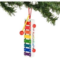 "Department 56 Fisher-Price ""Pull-A-Tune Xylophone"" Christmas Ornament  #4036385"