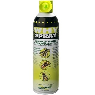 Rescue WHYS-BB12 W.H.Y Spray Insect Killer For Wasp and Hornet, 14 Oz
