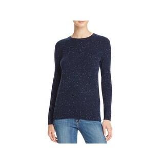 Private Label Womens Crewneck Sweater Cashmere Speckled