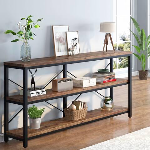 3-Tier Rustic Hallway/Entryway/Sofa Table