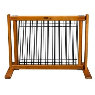 Wood and Wire Pet Gate - Small/Artisan Bronze