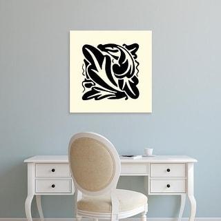 Easy Art Prints Vision Studio's 'B&W Graphic Beauty II' Premium Canvas Art
