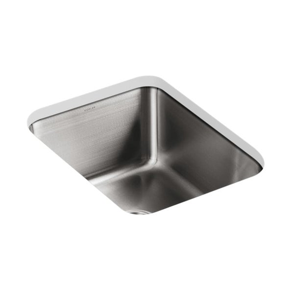 Kohler K 3163 Single Basin Stainless Steel Kitchen Sink From The Undertone Series