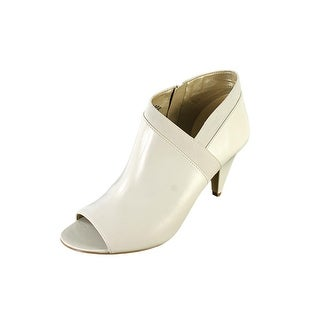 Bandolino Dalinda Women Open-Toe Leather White Bootie