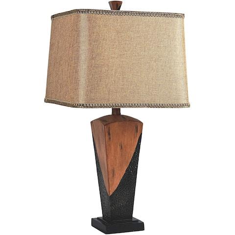 "26""European Style Vintage Bronzed Table Lamp - 26"