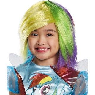 Rainbow Dash Costume Wig - Purple