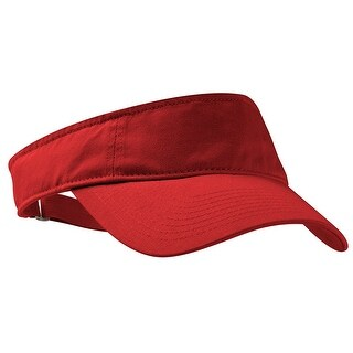 Fashion Visor, Color: Red, Size: One Size