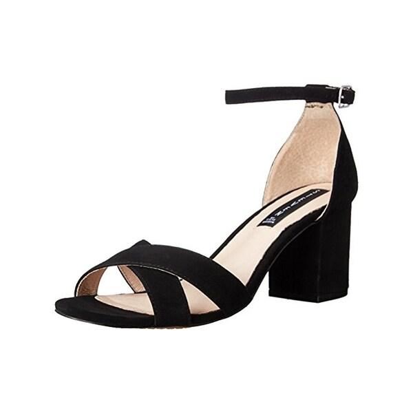 Steven By Steve Madden Womens Voomme Dress Sandals Suede Criss-Cross