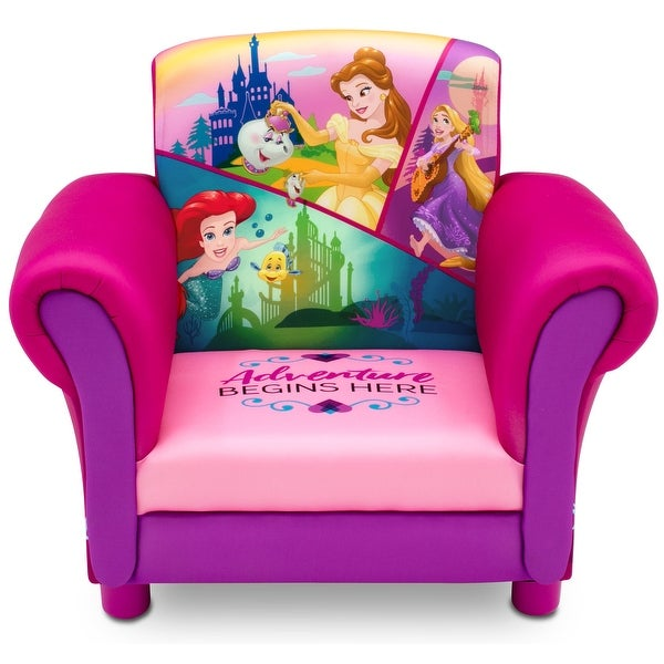 Princess Upholstered Chair by Delta Children. Opens flyout.