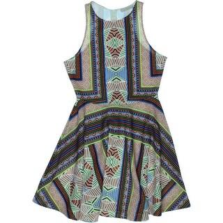 Townsen Womens Printed Sleeveless Casual Dress