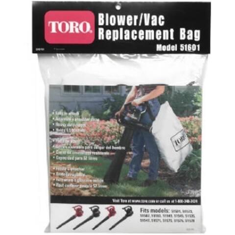 Toro 51503 Bottom Zip Blower Vac Replacement Bag