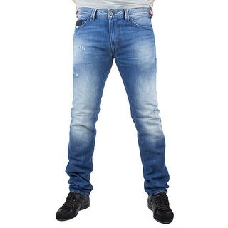 Diesel Thavar Men's Slim-Skinny Denim Jeans 0663E